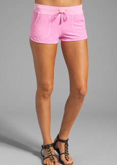 Juicy Couture Velour Neon Dolphin Short