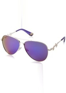 Juicy Couture womens JU562S Aviator Sunglasses