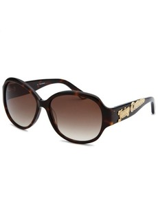 Juicy Couture Women's Oval Tortoise Sunglasses