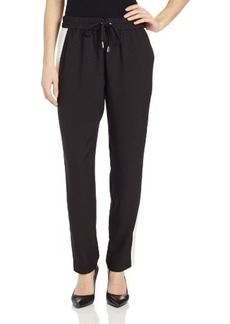Juicy Couture Women's Pull-On Crepe Track Pant