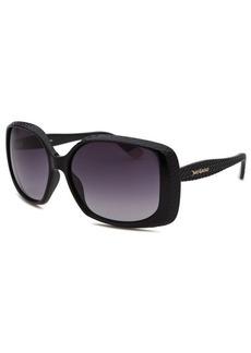 Juicy Couture Women's Rectangle Black Sunglasses