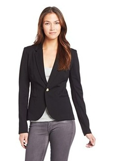 Juicy Couture Women's Solid Ponte Blazer