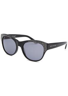 Juicy Couture Women's Wayfarer Black Sunglasses