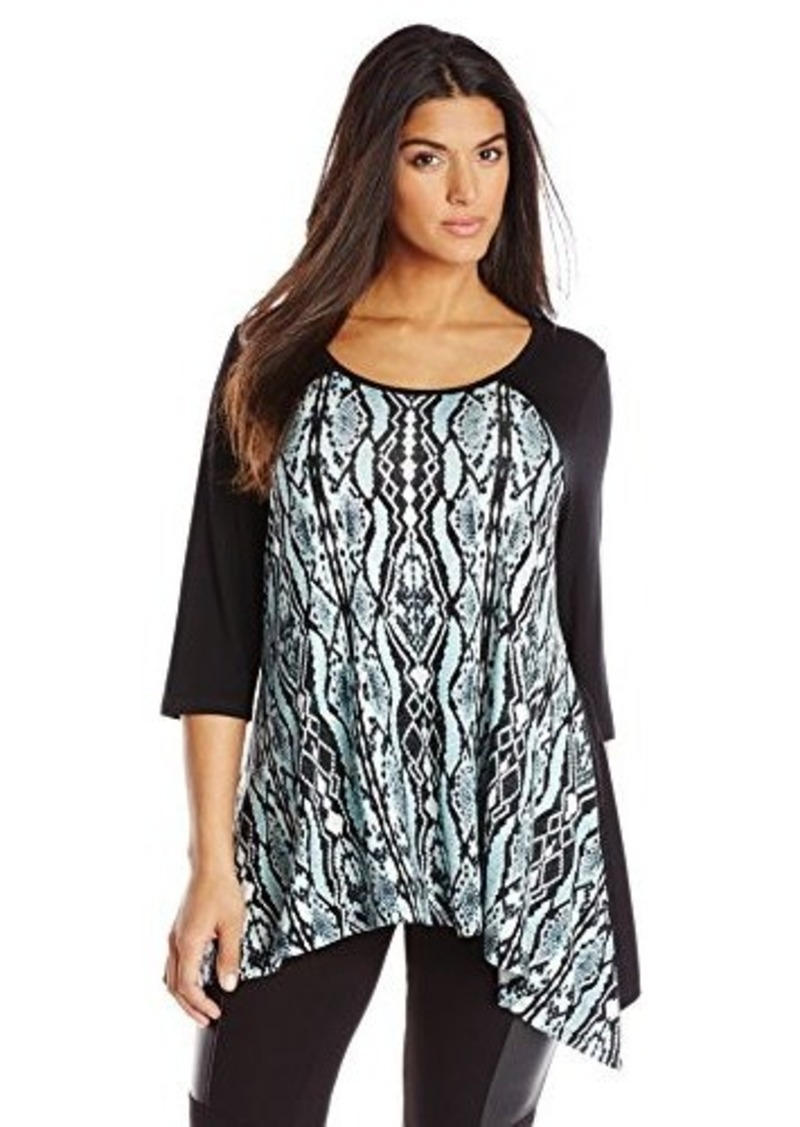 Karen Kane Karen Kane Women 39 S Plus Size Handkerchief Top
