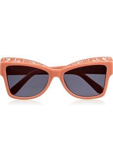 Karen Walker Atomiccat eye acetate sunglasses