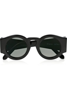 Karen Walker Blue Moon round-frame acetate sunglasses