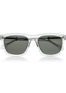 Karen Walker Deep Freeze square-frame acetate sunglasses