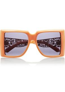 Karen Walker Optimist square-frame acetate sunglasses