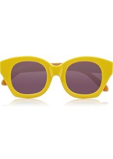 Karen Walker Soul Club cat eye acetate sunglasses