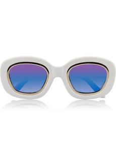 Karen Walker Underground round-frame acetate sunglasses