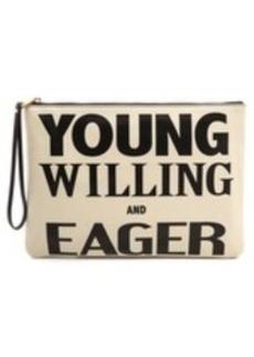 Karen Walker Young Willing & Eager Clutch