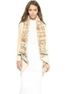 Karen Zambos Vintage Couture Reversible Winston Wrap Jacket