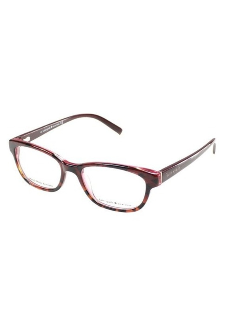 Kate Spade Tortoise Shell Eyeglass Frames : Kate Spade Kate Spade Blakely JME Tortoise Rose Plastic ...