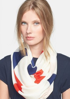 kate spade new york 'abstract bow' infinity scarf