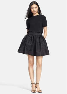 kate spade new york 'adra' ruffle trim top