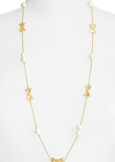 kate spade new york 'all wrapped up' station necklace