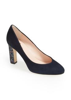 kate spade new york 'allora' glitter heel pump (Women)