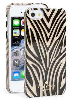 kate spade new york animal print iPhone 5 & 5s case