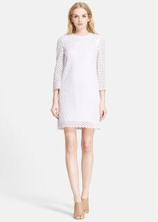 kate spade new york 'ashby' guipure lace shift dress