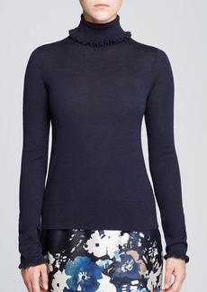 kate spade new york Bekki Ruffle Trim Sweater