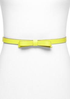 kate spade new york Belt - Skinny Bow
