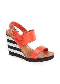 kate spade new york 'bina' high wedge slingback sandal (Women)