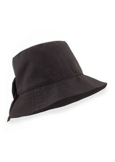 kate spade new york bow-back bucket hat, black