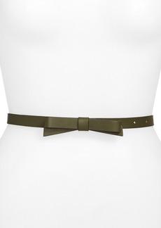 kate spade new york bow belt