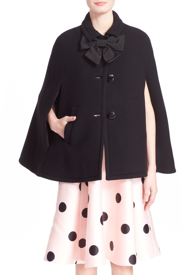 Sales kate spade outerwear kate spade new york bow capelet