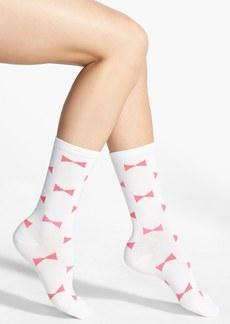 kate spade new york 'bow' trouser socks