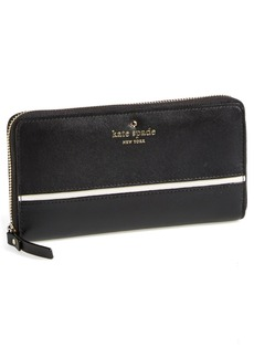 kate spade new york 'branton square - lacey' zip around wallet (Nordstrom Exclusive)
