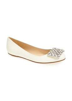 kate spade new york 'brilliant' nappa leather flat