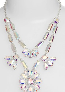 kate spade new york 'capital glow' frontal necklace