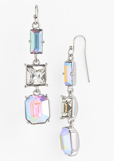 kate spade new york 'capital glow' linear earrings