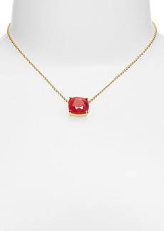 kate spade new york 'cause a stir' stone pendant necklace
