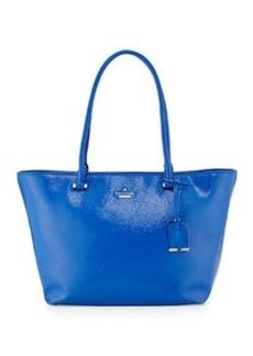 kate spade new york cedar street small patent handbag, orbit blue
