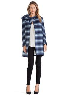 kate spade new york Check Dorothy Coat