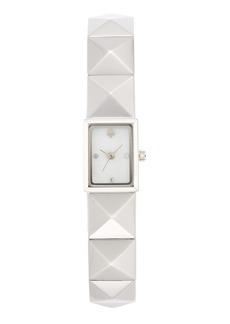 kate spade new york 'cobble mini' studded bracelet watch, 10mm