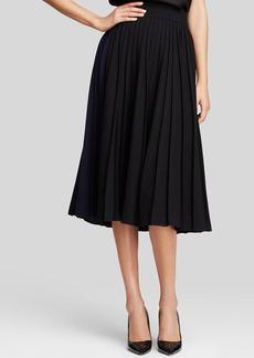 kate spade new york Pleat Midi Skirt