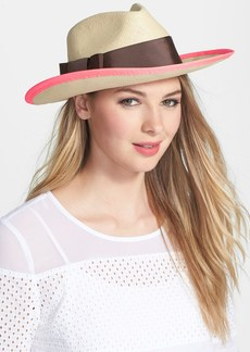 kate spade new york color pop panama hat
