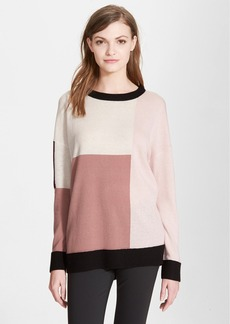 kate spade new york colorblock slouchy sweater