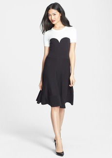 kate spade new york colorblock sweater dress