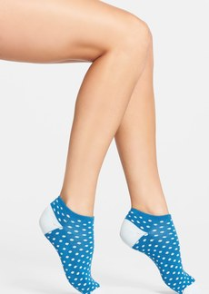kate spade new york 'colored dots' ankle socks