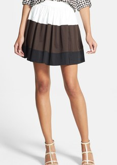 kate spade new york 'coreen' colorblock skirt