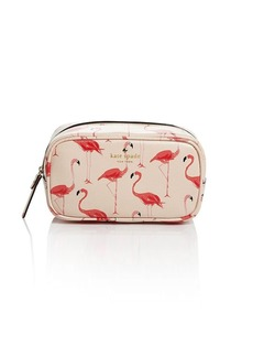 kate spade new york Cosmetic Case - Cedar Street Flamingos Ezra