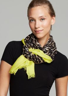 kate spade new york Cuban Leopard Scarf