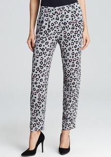 kate spade new york Cyber Cheetah Print Avery Pants - Bloomingdale's Exclusive