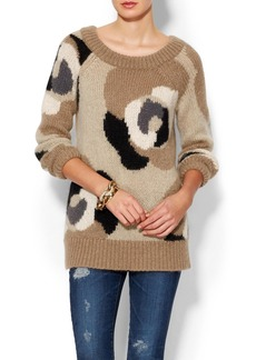 Kate Spade New York Deco Rose Mohair Sweater