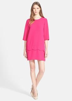 kate spade new york 'demi' scallop shift dress