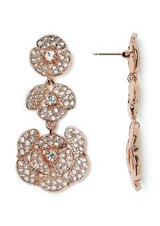 kate spade new york Disco Pansy Chandelier Earrings